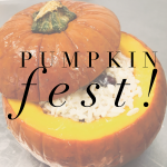Pumpkin Fest 8-12 years