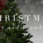Christmas Trees and Snowballs - Morning