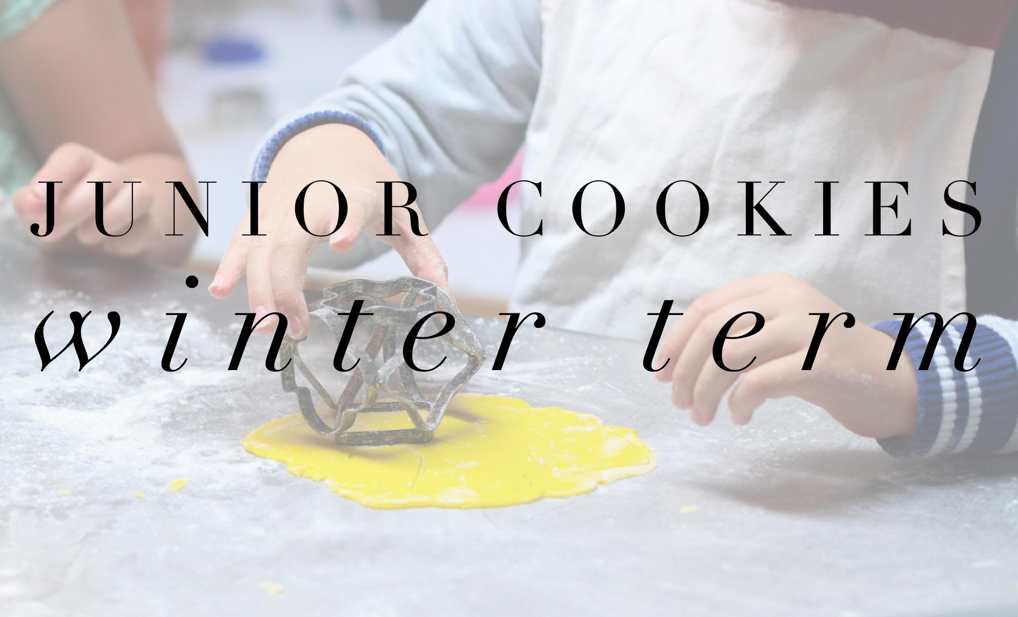 Junior Cookies Winter Term - 5-9 years - Morning