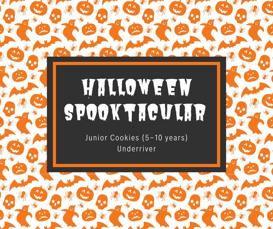 Junior Cookies (5-10 years) Halloween Spooktacular - Underriver (Sevenoaks)