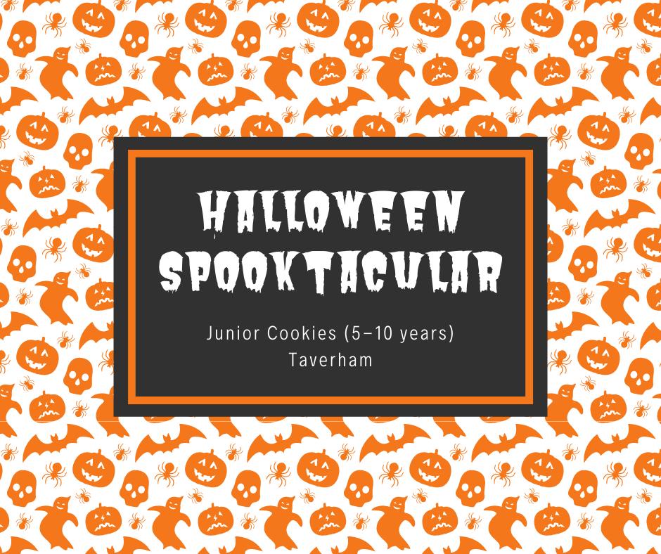 Junior Cookies (5-10 years) Halloween Spooktacular - Taverham